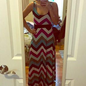 Dresses & Skirts - Boutique chevron maxi dress